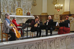 Photos from the full dress-rehearsal of the concert in the beguinage church Sint-Catharina in Antwerp on 15 February 2015